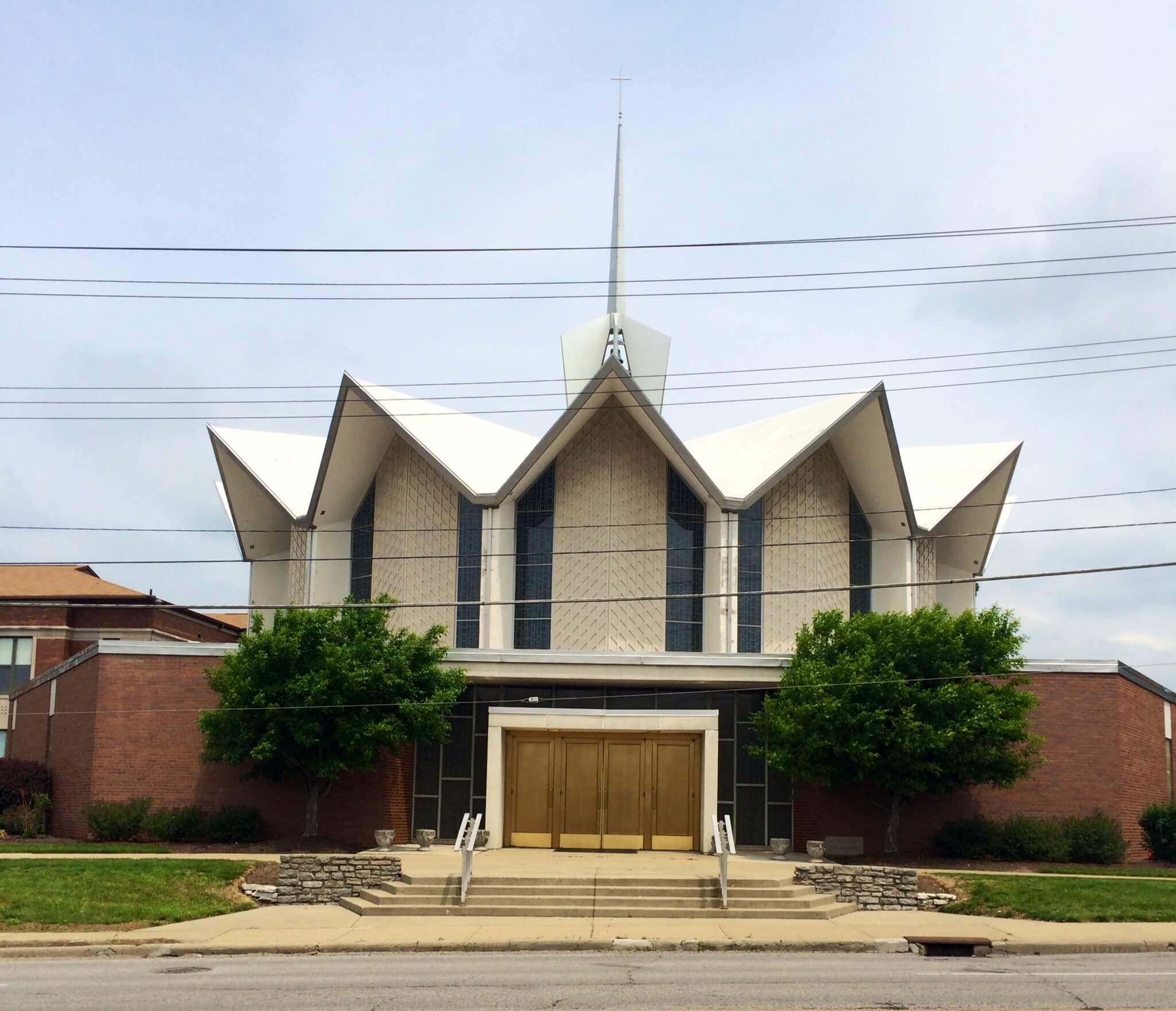Bridgetown Doors & Parish History | St. Aloysius Gonzaga Catholic Church